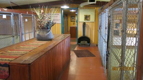 Greta Lane Inside Kennel Alley